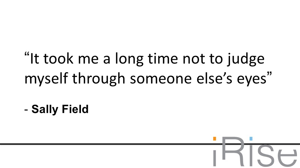 Sally field quote