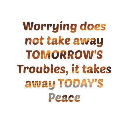 worry and anxiety